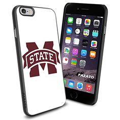 iPhone 6 Print Case Cover Mississippi State Bulldogs logo Protector Black PAZATO® PAZATO Sport http://www.amazon.com/dp/B00OCNW8S8/ref=cm_sw_r_pi_dp_XiQtub12FKVZ1