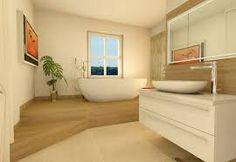 Bildergebnis für freistehende badewanne podest
