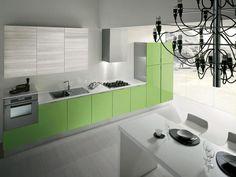 #Cucina FLASH » www.cucinesse.it/cucine/flash/ #design #casa #arredamento #colore