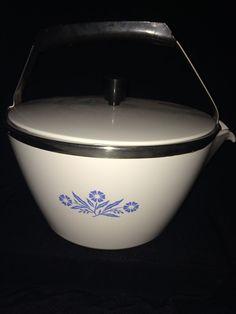 Vintage Corning Ware Blue Cornflower Kettle