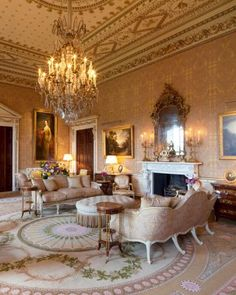 Ireland's historical manor house now a five-star country house hotel, Ballyfin