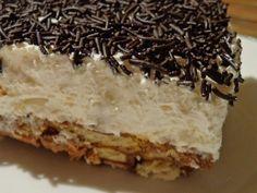 Ψυγείου!!Σοκολάτα & Σαντιγύ .Υπέροχο γρήγορο εύκολο γλυκό!!! ~ ΜΑΓΕΙΡΙΚΗ ΚΑΙ ΣΥΝΤΑΓΕΣ Greek Desserts, Greek Recipes, Easy Desserts, Greek Cake, Yummy Mummy, Icebox Cake, No Bake Cake, Food To Make, Deserts