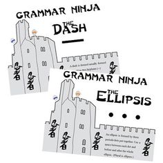 116 Best Grammar Ninjas Images On Pinterest Teaching Grammar