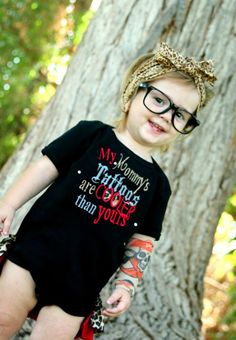 mommys tattoos tattoo inspired boy girl by StitchItUpBoutique, $19.00
