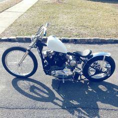 Ironhead | Bobber Inspiration - Bobbers and Custom Motorcycles | thejadedandfaithless November 2014