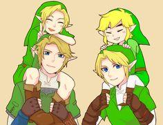 The Legend of Zelda : Ocarina of Time, Twilight Princess, Wind Waker  / Link  / 「時・風・光」/「しゅう」のイラスト [pixiv] [01]