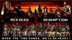 RDR 2 - When the time comes, We`ll be ready ! by Haffen