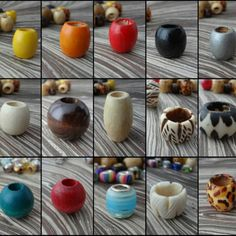 Your place to buy and sell all things handmade Dread Beads, Hair Beads, Dreadlock Accessories, Bone Carving, Dreads, Hippie Boho, Lust, Bones, I Shop