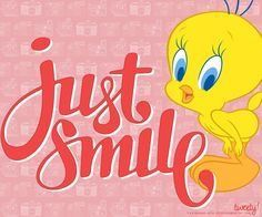 Cute Quotes, Funny Quotes, Tweety Bird Quotes, Cartoon Clip, Addicted To You, Favorite Cartoon Character, Bird Crafts, Bird Pictures, Just Smile