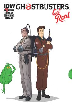 When a confrontation with the elder God Proteus goes awry, Peter, Ray, Winston and Egon will meet... THE REAL GHOSTBUSTERS!