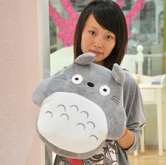 Rabbit totoro thermal pillow cushion plush toy birthday gift on AliExpress.com. $9.59