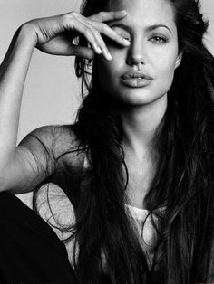 Angelina Jolie. Dog on her all you want, I don't care-she's an amazing actress.