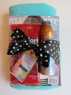 Nice Teacher or Coach Gifts with Simple Tags: Our coaches went nuts over these and all the other parents loved them.