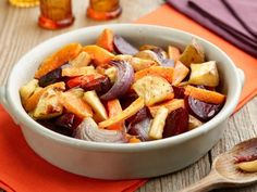Oven-Roasted Root Vegetables Recipe   Food Network Kitchen   Food Network