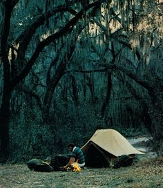 camping - not for me. He always wanted to go camping alone for a couple of days. Camping Glamping, Camping And Hiking, Camping Survival, Camping Life, Outdoor Camping, Camping Rules, Camping Photo, Get Outdoors, The Great Outdoors