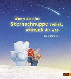 Wenn du eine Sternschnuppe siehst, wünsch dir was: Vierfarbiges Bilderbuch
