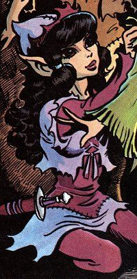 Moonshade, Elfquest If I was an elfquest elf... I'd be her, definitely xD minus the tanning ability probably