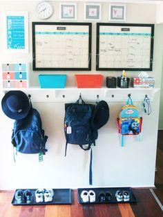 Getting Organized: Command Centers | Homes.com Inspiring You to Dream Big