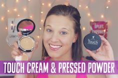 Have look our amazing coverage with our touch mineral cream & touch pressed powder foundation... TOUCH MINERAL CREAM & PRESSED POWDER FOUNDATIONS || Younique || Demo || The Lash Babe