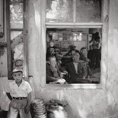 ARA GÜLER-İstanbul-Kartalda bir kahvehane 1956