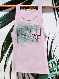 Beach Please Tank - New Arrivals - Womens