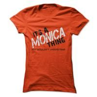 Monica Thing! You Wouldnt Understand