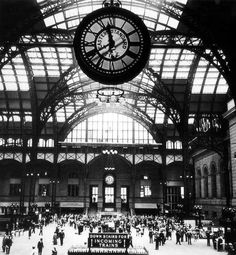 No, this is not a building in France.  This was the Pennsylvania Railroad Station in New York City.  It was demolished in the mid 1960's.