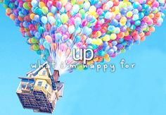 What I'm happy for» UP