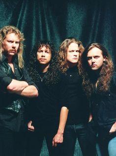 James Hetfield, Kirk Hammett, Jason Newstead, Lars Ulrich