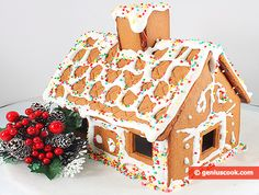 Gingerbread house #recipe