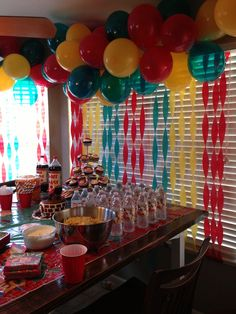 Wreck it Ralph Party theme. So much fun