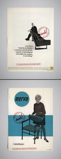 furniture magazine ads for Dank