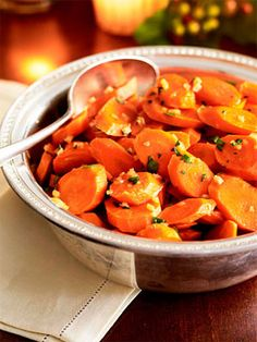Get the recipe for Maple-Ginger Glazed Carrots