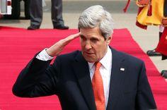 한국 도착한 존 케리 국무 장관 사진 http://i.wik.im/114275