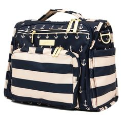(via Ju-Ju-Be Nautical Legacy Collection B.F.F Convertible Diaper Bag, The Commodore review)