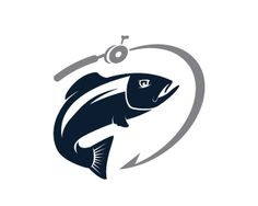 Fishing Logo Logo design - Fishing Logo<br />• Fish/Reel<br />• Also applicable for apparels<br />• Outdoor Activities Price $249.99
