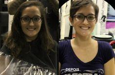 Katia Miyazaki Coiffeur - Salão de Beleza em Floripa: antes e depois - corte feminino - mudança - Salão ...