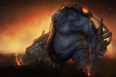 Let's do Doom pt:13 - Mancubus by Mechanubis on deviantART
