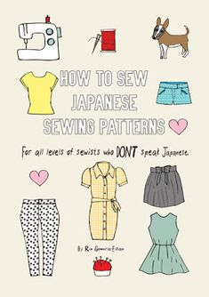 Book Review: How to Sew Japanese Sewing Patterns - zakka life