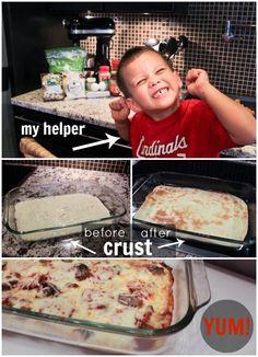 {Recipe} Gluten Free Pizza
