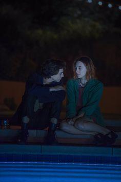 "chalametdaily: """"Timothée Chalamet + Saoirse Ronan | Lady Bird (2017) "" """