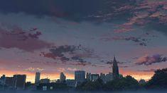 """The Garden of Words 言の葉の庭"" Background Art Aesthetic Desktop Wallpaper, Anime Scenery Wallpaper, Landscape Wallpaper, Computer Wallpaper, Aesthetic Backgrounds, 1080p Wallpaper, City Skyline Wallpaper, The Garden Of Words, Anime City"