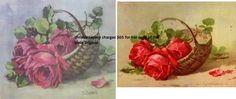 christie repasy's is on the left.  catherine klein's is on the right.  even the petal on the right has been copied