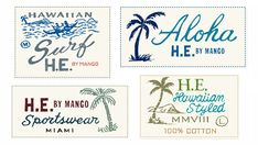 Mango H.E. Branding by Glenn Wolk, via Behance