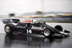 1977 U.S. Grand Prix at Watkins Glen: Danny Ongais completed only 6 laps in the Penske PC-4 before wrecking in the wet. The race was won by John Watson in a McLaren, followed by Mario Andretti in a Lotus.