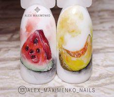 Nail Art Wheel, Aqua Nails, Almond Nails, Summer Nails, Nail Art Designs, Hair Beauty, Baking, French, Manicures
