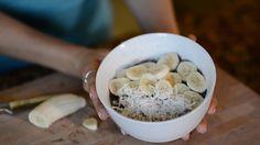 Banana-Chia Seed Pudding