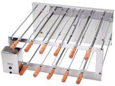 Churrasqueira Elétrica Rotativa Dupla Arke - 11 Espetos