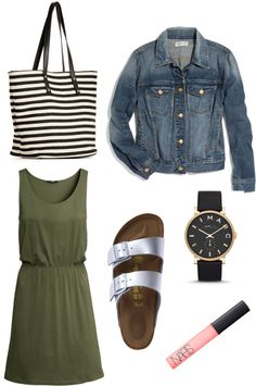 silver birkenstocks outfit - because I am weirdly longing for a pair of birks...so not me, but why not!