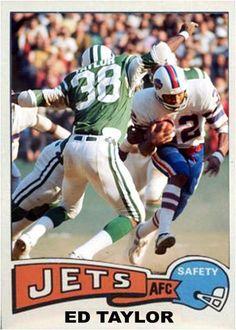 Ed Taylor New York Jets